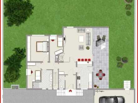 ***Architektenhaus mit großen Garten + Potenzial***