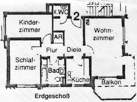 Schöne drei Zimmer Wohnung in Sandhausen (Rhein-Neckar-Kreis)