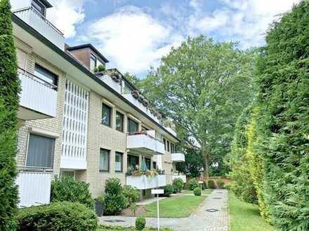 Zeitlos gestaltete Wohnung im schönen Bergstedt