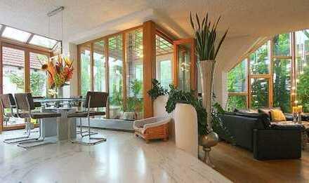 Stilvoll und stadtnah wohnen - großzügiges Architekten-Einfamilienhaus ideal für die große Familie
