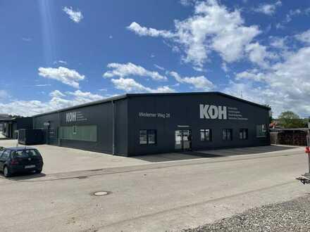 Moderne Produktions-Lagerhalle mit 13 Stellplätzen