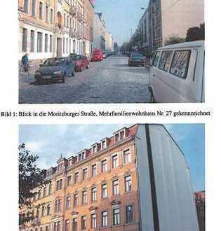 Leipziger Vorstadt - tolle 2-Zimmer-DG-Wohnung mit Balkon und Elbblick