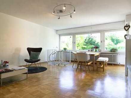 Gepflegte 4-Zimmer-Hochparterre-Wohnung mit Balkon und EBK in Lehrte