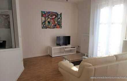 Möblierte 1,5 Zimmer Wohnung in ansprechendem Architektenhaus - an Einzelperson zu vermieten