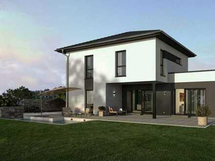 Modernes Einfamilienhaus einzugsfertig gebaut