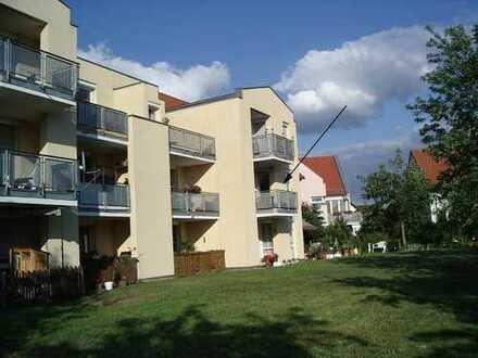 Modern geschnittene 2-R-Wohnung mit Balkon in Ockrilla