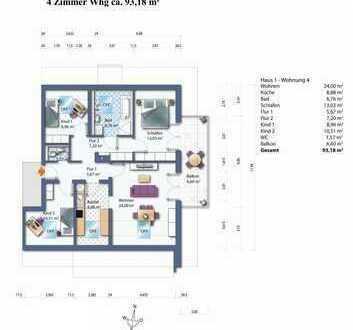 Haus 1 Whg. 4 Dachgeschoss Wohnung