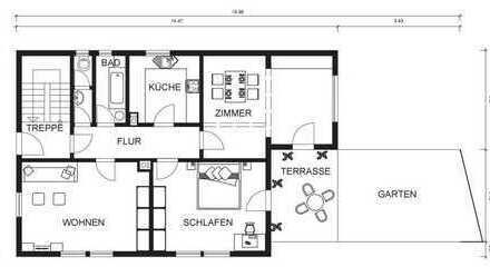 Kapitalanlage: Großzügige Wohnung mit langfristigem Mieter