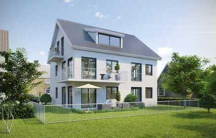 Exklusive Erdgeschoss-Neubauwohnung mit Garten in ruhiger Lage von Türkheim!
