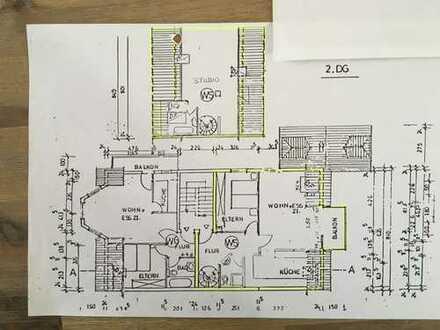 Gepflegte 3-Zimmer-Maisonette-Wohnung mit Balkon und EBK in Karlsbad