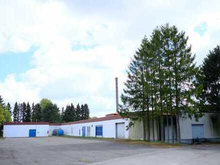 Lager und Produktionsflächen - Hier kann was entstehen !