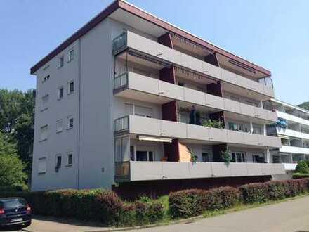 Modernisierte 1-Zimmer-Wohnung mit Balkon und EBK in Hemsbach