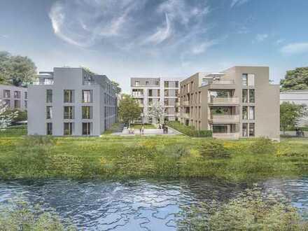 Optimaler Grundriss & Blick ins Grüne: 3-Zi.-Wohnung mit Tageslichtbad und 2 Balkonen