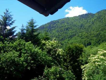 Schöne 2-Zimmer-DG-Wohnung mit Balkon in Oberau