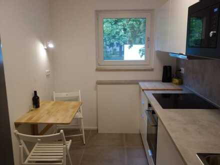 Möbliertes WG-Zimmer 13m2 mit Balkon (inkl. WIFI) in neu sanierter Wohnung in Milbertshofen-Am Hart