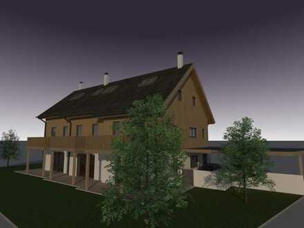 Neubau im beliebten 5-Seenland: Charmantes Reihenmittelhaus aus Vollholz
