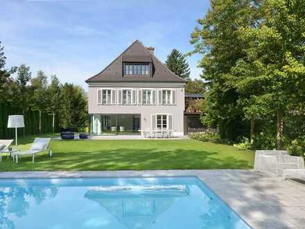 Hochkarätige Villa mit Traumgarten und Outdoorpool