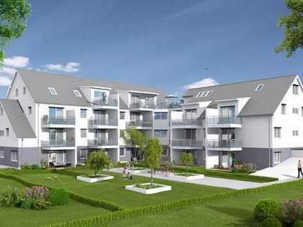 Baubeginn erfolg! Große Gartenwohnung in Neu - Esting, dem sympathischen Ortsteil von Olching.
