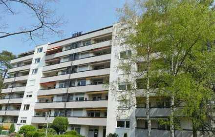 FREI! 3,5-Zimmerwohnung mit großzügigem Balkon und TG-Stellplatz in angenehmer Lage der Waldstadt