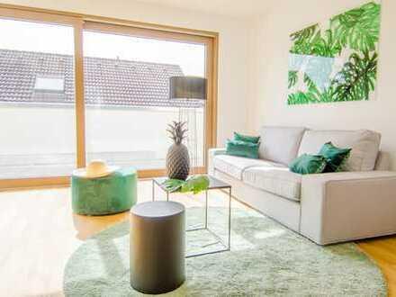 Stilvolle möbelierte Penthouse Wohnung in Kelsterbach