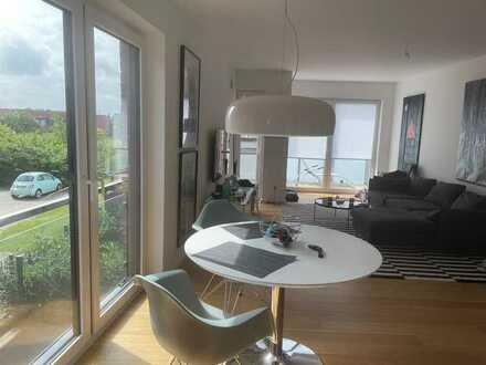 Helle, hochwertige 2-Raum-Wohnung mit Südbalkon und EBK in MS-Hiltrup