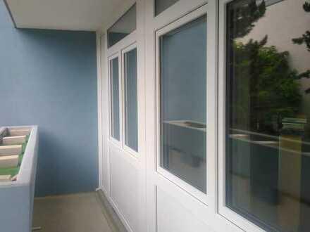 geräumige und modernisierte 1-Zimmer-Wohnung mit Balkon in Ludwigshafen am Rhein