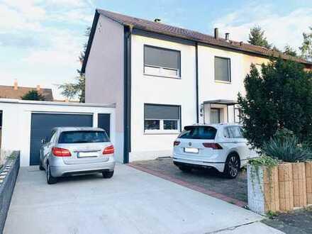 Doppelhaushälfte - PROVISIONSFREI von Privat - umfassend renoviert - 498.000 €, 111 m², 4,5 Zimmer