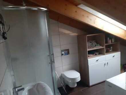 Vollständig renovierte 1-Zimmer-Dachgeschosswohnung mit EBK in Weinheim
