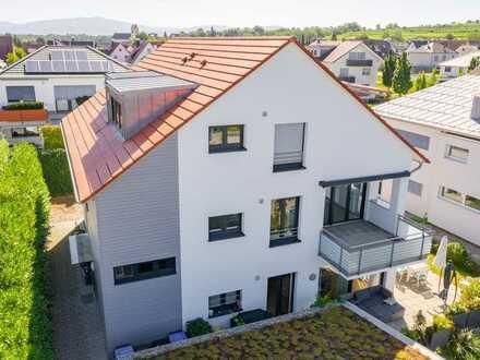 Lichtdurchflutete Wohnung in modernem Neubau