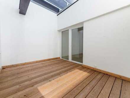 Loftwohnung mit Terrasse und Atrium zu vermieten!