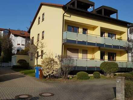 Sehr schöne, gepflegte 2-Zimmer-Wohnung mit Balkon und EBK in Würzburg