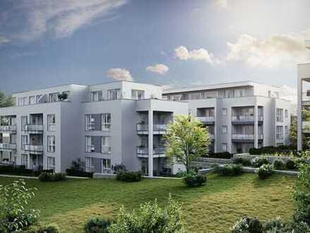 Schicke Single-Wohnung: Sonnig frühstücken auf dem Balkon!