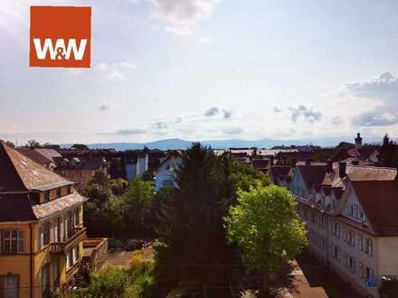 2-Zimmerwohnung mit traumhaftem Ausblick über den Dächern von Rastatt