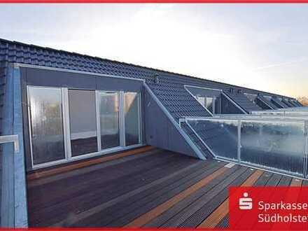 Eine Dachterrasse zum Verlieben.
