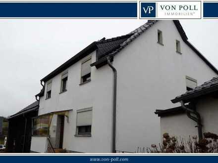 **Vielfazettierte Entwicklungsmöglichkeiten** Wohnhaus mit Scheune und Garten am Nürburgring!