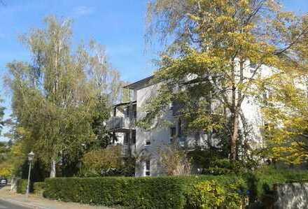 Schicke gemütliche 2-Zimmer-Dachgeschoss-Wohnung mit 2 Balkonen nahe Waldpark