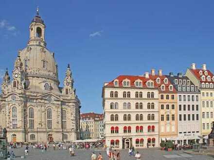 In der City von Dresden wohnen und arbeiten. 4-Zi-Whg. an der Frauenkirche