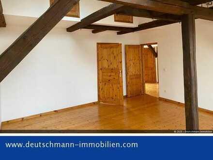 DEUTSCHMANN IMMOBILIEN ***** ivd - Schicke Dachgeschoss-Wohnung im Zentrum von Bernau!