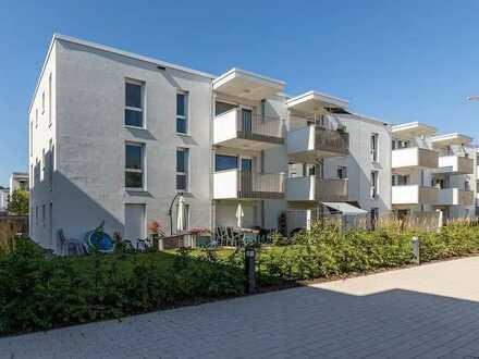 Helle 3-Zimmer-Neubauwohnung mit Balkon im Herzen Offenburgs