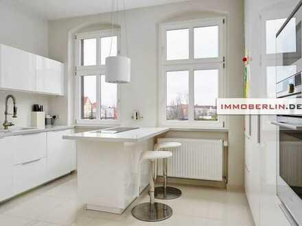 IMMOBERLIN: Topzustand! Bezaubernde Wohnung mit Südbalkon