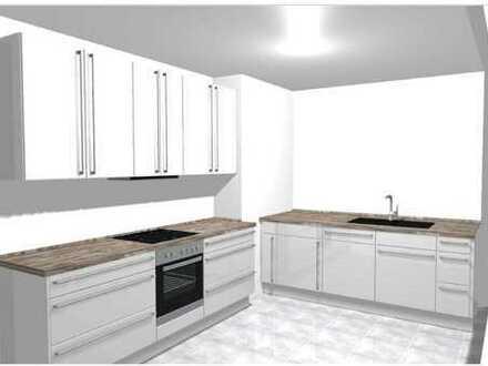 Tolle Maisonette mit großem Balkon, hochwertige Einbauküche und Stellplatz