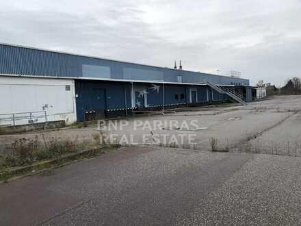 Logistik- und Lagerflächen direkt an der B100