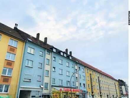 16 Eigentumswohnungen und 2 langfristige Gewerbeeinheiten Richtung Dortmunder Hafen.