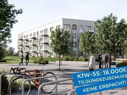 Ihr neues Zuhause: 4½-Zimmer-Wohnung mit Balkon und Dachterrasse, Erstbezug, KfW-55, Wohnung 28