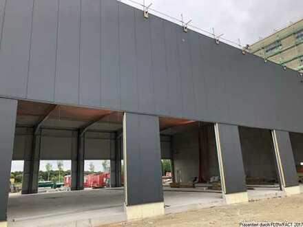 Neubau-Hallenflächen im GVZ mit Top Ausstattung