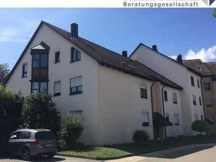 Vermietete 3-Zimmer-Erdgeschosswohnung in Stadtrandlage von Hechingen