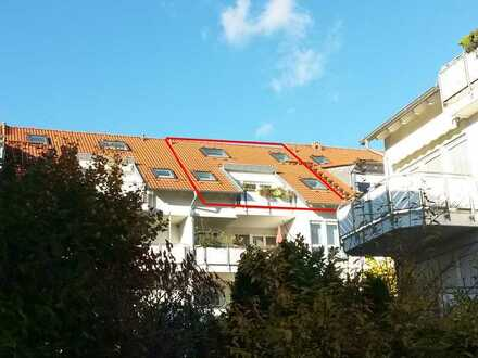Helle 4,5-Zimmer Maisonettewohnung zum Wohlfühlen mit Süd-Loggia