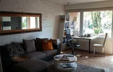 Bezugsfrei - liebevoll gestaltete EG 1-Zimmer Wohnung - Balkon und Stellplatz - Hiltrup
