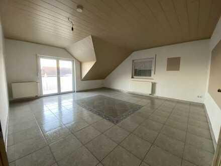 4-Zimmer-Dachgeschosswohnung mit sehr großem Weitblick-Balkon in Wetzlar