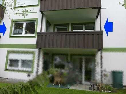 Wohnen in der Gartenstadt Bad Wörishofen - 2-Zi.-Eigentumswohnung im 1. OG